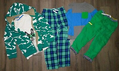 £70.79 • Buy Lot 5 Boy's MINI BODEN Shirts Lined Skate Flannel Pants Shaggy Hoodie Sets 7-8Y