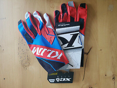 $ CDN30.45 • Buy KLIM XC LITE OFF-ROAD GLOVES BLUE/RED ATV MTB E-TOUCH RIDING GLOVES Size 2XL NWT