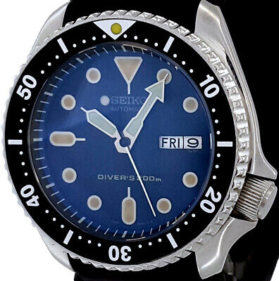 $ CDN84.29 • Buy Vintage Diver Seiko SKX007 Genuine 7S26 Movement, Dial + D-Dome Sapphire Crystal