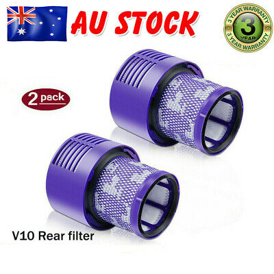 AU17.99 • Buy For DYSON V10 Filter Genuine Cyclone Animal Absolute Total Clean Washable 2 Pack
