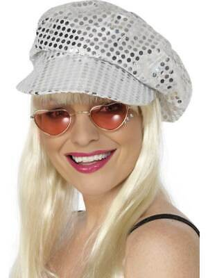Disco, Abba, Sequin Hat, 1970's Disco, Abba, Fancy Dress, One Size, Womens • 5.99£