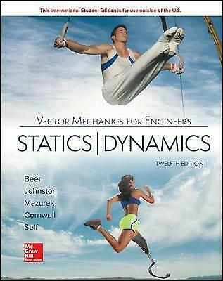 ISE Vector Mechanics For Engineers: Statics And Dynamics, Beer, Ferdinand,  Pape • 50.87£