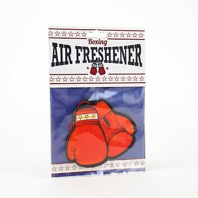 Gift Republic Novelty Fun Boxing Gloves Air Freshener For Car Clearance NEW • 2.99£