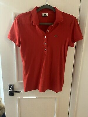 Womens Lacoste Polo Size 44 • 5.50£