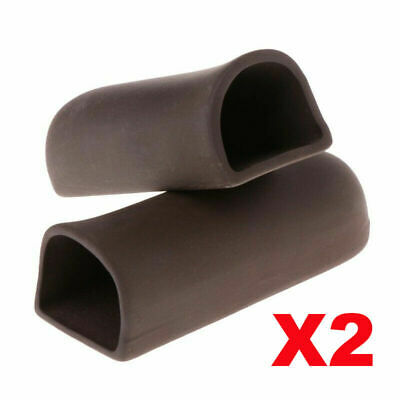 2pcs Aquarium D Shape Ceramic Breeding Cave Pleco Fish Clay Shrimp Hide Shelter • 7.99£