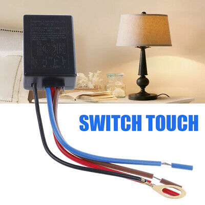 LD-600S Touch Light Lamp Pressure Dimmer Switch Control Sensor Incandescent.^^ • 6.36£