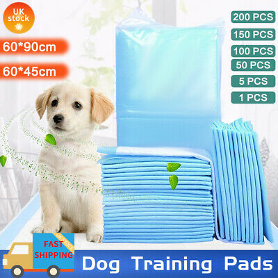 £12.99 • Buy Heavy Duty Large Puppy Pet Training Wee Pee Toilet Pads Pad Floor Mats Cat Dog