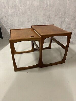 G Plan Quadrille Nest Of Tables (2 Only ) • 10.50£
