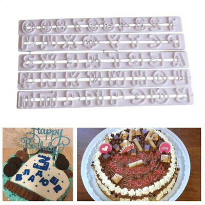 £2.82 • Buy Russian Alphabet Letter SugarCraft Mold Fondant Baking Cake Cookies Cutter Tool