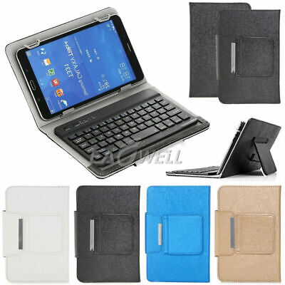 £19.19 • Buy Removable Wireless Keyboard Flip Leather Case Cover Stand For All 7-10  Tablet