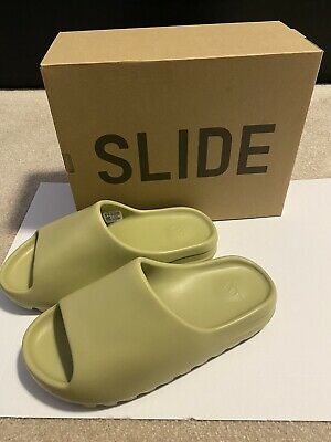 $ CDN320 • Buy Yeezy Slides Resin Size 9, 9.5/10 Condition With Og Box In Brand New Condition