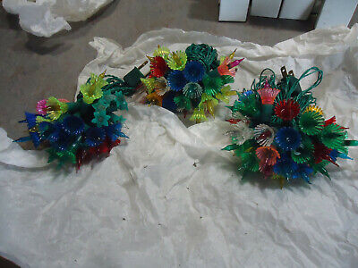 $ CDN22.71 • Buy Vintage 3 Strings Of Old Christmas Tree  Lights / Holiday Decoration