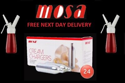 MOSA Whipped Cream Chargers MOSA Canisters & Whippers Option - Free Delivery  • 27.99£