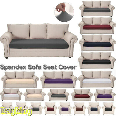 1/2/3Seater Stretch Sofa Couch Cushion Covers Furniture Protector Slipcover Grey • 7.59£
