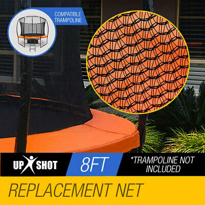 AU63 • Buy Up-Shot 8ft Replacement Trampoline Inside Safety Net Spare Part Enclosure 6 Pole