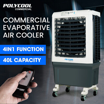 AU259 • Buy 【EXTRA10%OFF】POLYCOOL 40L Evaporative Cooler Air Conditioner Portable Fan