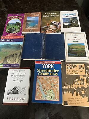 10x Books Lake District Rambler's Guide, Short Walks, York, Lakeland Fells • 7.75£