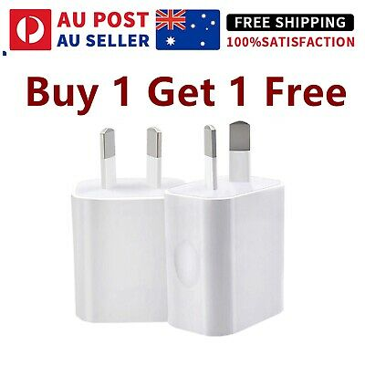 AU18.88 • Buy Fast Charging Certified USB Wall Plug Charger Adapter For IPhone IPad Samsung
