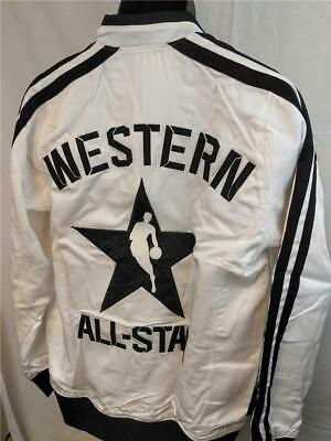 Western Conference 2013 NBA All Star Game 2XLarge 2XL +2 On Court White Jacket • 48.09£