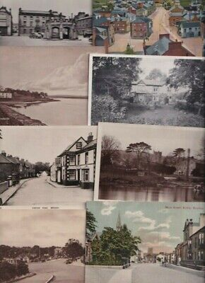 £3 • Buy Cumbria/Westmorland - Kirkby Etc. - 9 Old Postcards -   Sold Singly