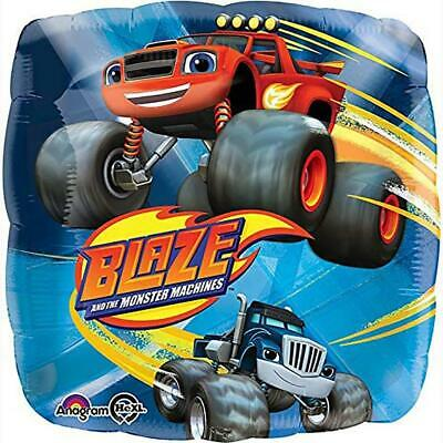 Blaze And The Monster Machines Foil Mylar Balloon 18  Birthday Party Supplies • 2.91£