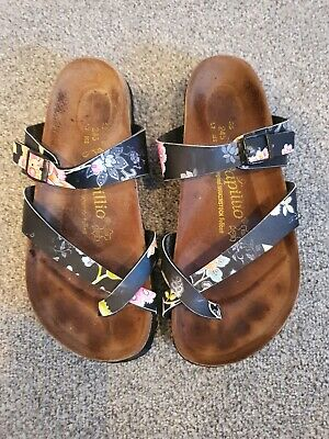 Ladies Papillio Birkenstock Sandals Size Uk 5 • 7.10£