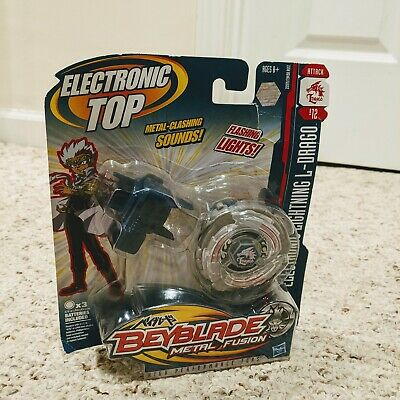 AU52.03 • Buy Beyblade Metal Fusion Electronic Top Lightning L-Drago B12 Lights Attack NEW!!