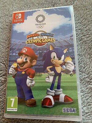 Mario And Sonic At The Olympic Games Nintendo Switch NEW • 10.49£