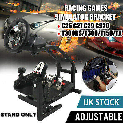 Steering Wheel Stand Racing Simulator Gt Gaming For Ps4 Logitech G920 G29 T300s • 5.99£