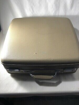 View Details Vintage Hard Shell Suitcase American Tourister Tri Taper 19 X 21 • 60.00$