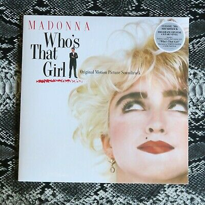 £24.99 • Buy Madonna Who's That Girl Crystal Clear Vinyl Sealed LP 180g  Sire ‎– RCV1-25611