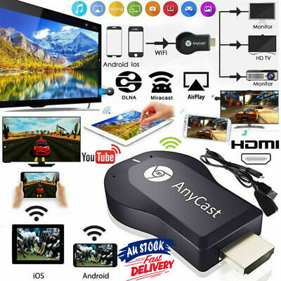 AU13.72 • Buy AnyCast DLNA Wireless WiFi 1080P HD HDMI TV Stick Chromecast Airplay Dongle AU