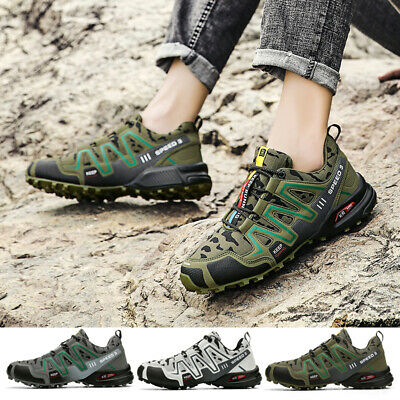£21.37 • Buy New Mens Hiking Rambling Outdoor Walking Trekking Trail Trainers Shoes Uk Sizes