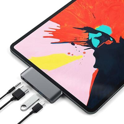 AU22.99 • Buy Type C Hub Adapter PD Charger 4K HDMI USB 3.5mm Jack For IPad Pro Switch Air S8