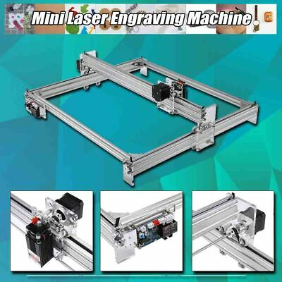 AU475.32 • Buy Mini Laser Engraving Machine DIY Printer Desktop CNC Wood Metal Kit 1W-15W 65x50