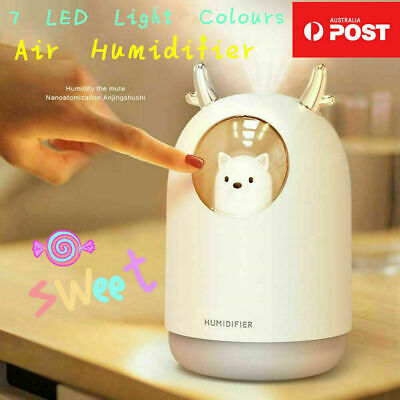 AU14.99 • Buy 7 LED USB Ultrasonic Air Humidifier Aroma Essential Oil Diffuser Aromatherapy