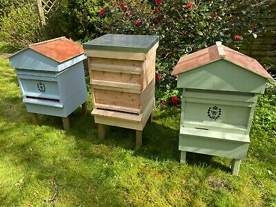 British National Bee Hive With Gabled Roof • 169.99£