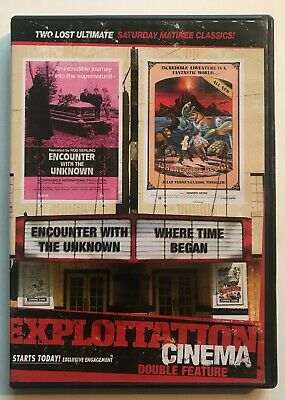 Encounter With The Unknown / Where Time Began Exploitation Cinema DVD NTSC OOP • 17.23£