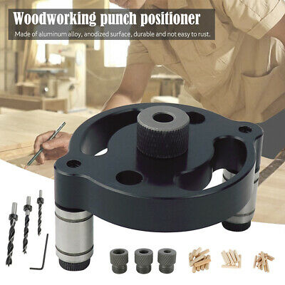 Locator Drill Guide Jig Woodworking Straight Hole For Vertical Hole Drilling New • 10.99£