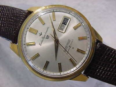 $ CDN26.05 • Buy Vintage GOLD FD Large Antique SEIKO SPORTSMATIC AUTOMATIC Mens Watch