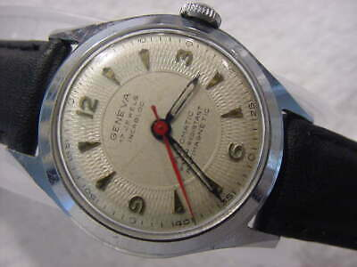 $ CDN26.05 • Buy Vintage Larg Antique WWII World War II Military BREITLING GENEVA AUTOMATIC Watch