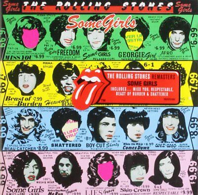 Rolling Stones Some Girls Cd 2009 Rock New • 6.99£