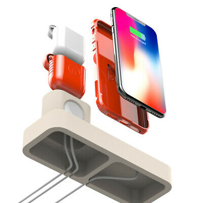AU28.10 • Buy Charging Stand Station Holder Dock For IPhone For Apple Watch For Airpods 3in1