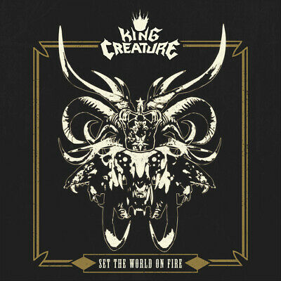 King Creature : Set The World On Fire CD (2020) ***NEW*** FREE Shipping, Save £s • 11.32£