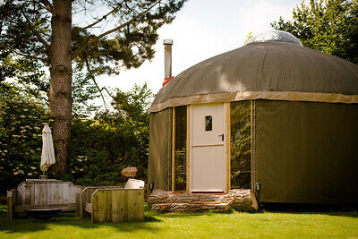 New Bespoke Handcrafted Yurt Glamping Pod Luxury Camping Tiny House Cabin Lodge • 32,000£