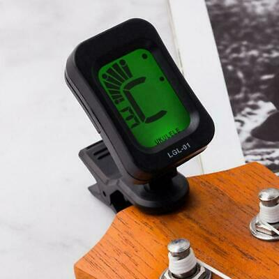 $ CDN3.69 • Buy Guitar Tuner Rotating Digital Clip-on Tuner High Sensitivity Accessories Z8Y7