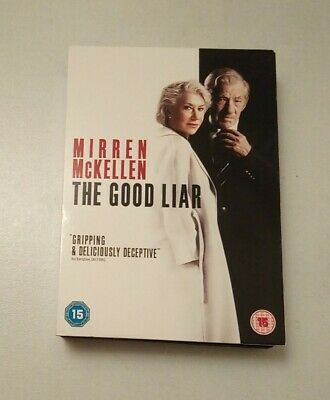 The Good Liar Helen Mirren & Ian Mckellen Together! Excellent Once Played Dvd  • 3.95£