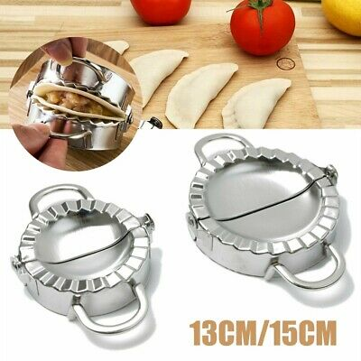 Dumpling Mould Press Meat Pie Pastry Maker Dough Cutter Tool Stainless Steel NEW • 8.25£