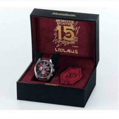 $ CDN825.88 • Buy Monster Hunter 15th SEIKO Collaboration Watch LIOLAEUS Limited Only 1000 SBPY155