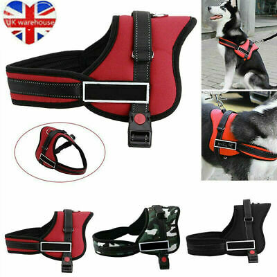£7.99 • Buy No Pull Dog Harness Vest Large With Handle Adjustable Reflective For S-XL Dogs